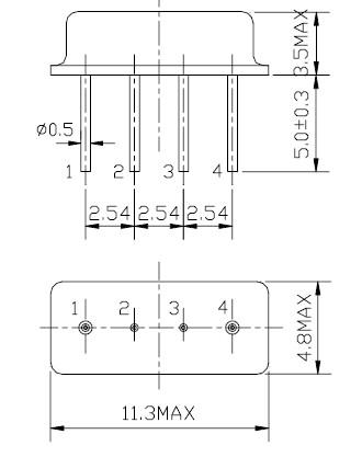 声表面谐振器,f11-r433m,滤波器