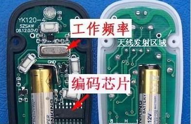 各型号遥控器专用晶振