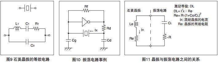 无源晶振工作电路图