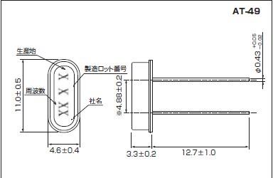 石英晶体谐振器,at-49晶振
