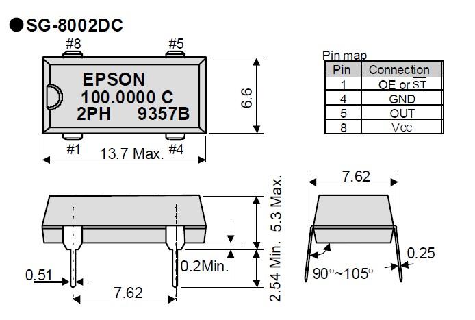 可编程贴片晶振,爱普生sg-8002dc振荡器,健身器材有源