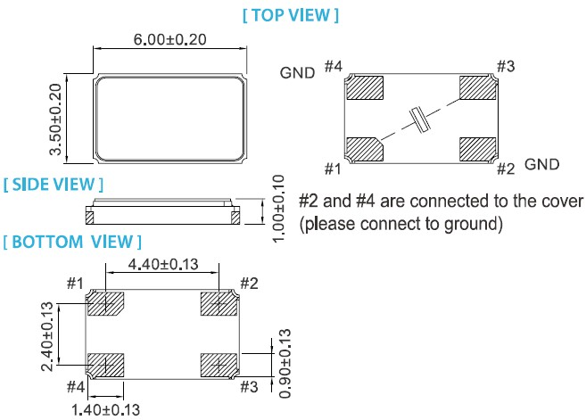 金属面四脚晶振,XR-6035无源晶振,TAITIEN晶振供应商,晶体内部采用了真空封装技术,是指在真空封装区域内进行封装.在极端严酷的环境条件下也能发挥稳定的起振特性.封装尺寸大小6.0 x 3.5 x 1.0mm,16mm宽胶带&卷包自动装配,频率公差10 ppm,该款产品被广泛应用于WiMAX,WLAN,Wi-Fi,汽车电子,网络设备.